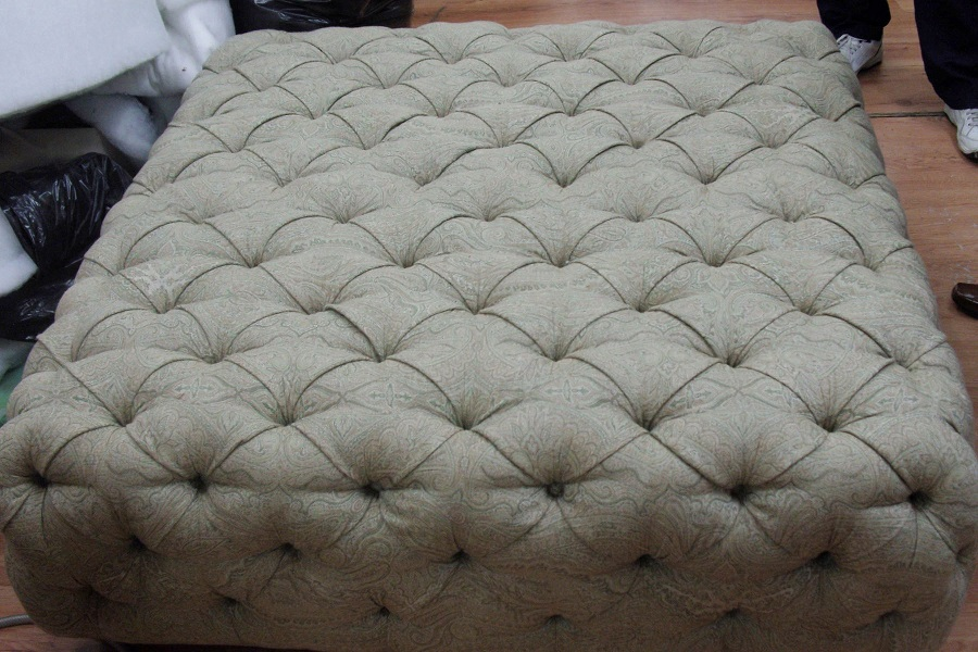 Image of perfectly restored footstool